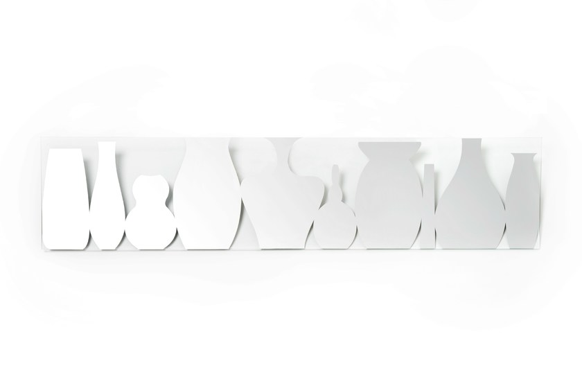 Classic style rectangular mirror FLOWER | Deco mirror - DEKNUDT MIRRORS