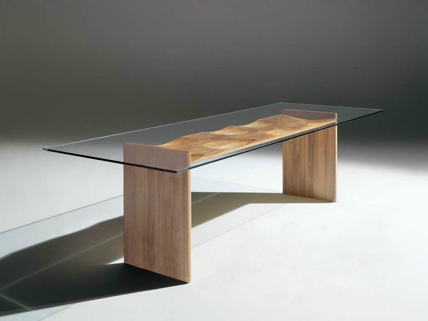 Rectangular table RIPPLES | Table by horm