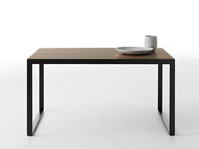 Extending wooden table WOW! PLUS by horm