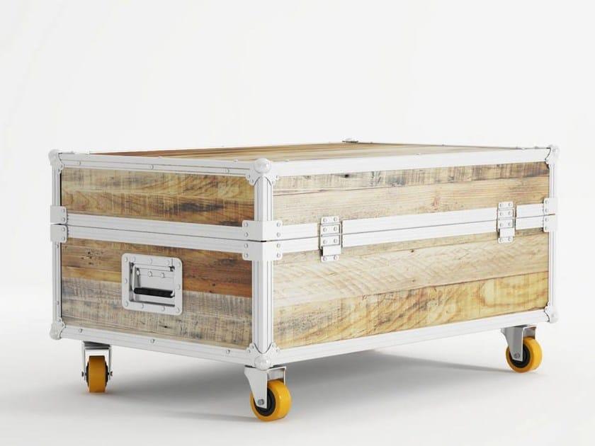 Wooden storage chest ROADIE | Storage chest - KARPENTER