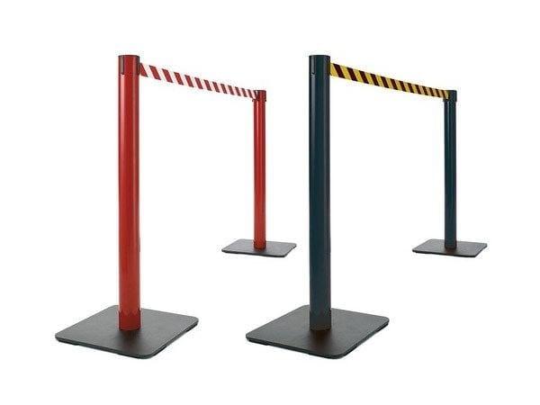 Barriera industriale delimita aree