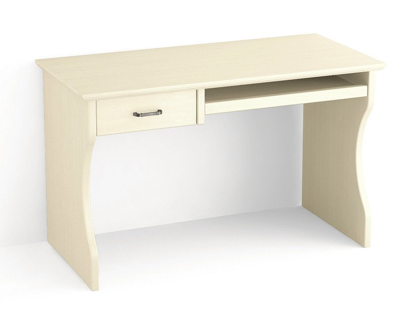 Rectangular wooden writing desk with drawers Writing desk with drawers - Scandola Mobili