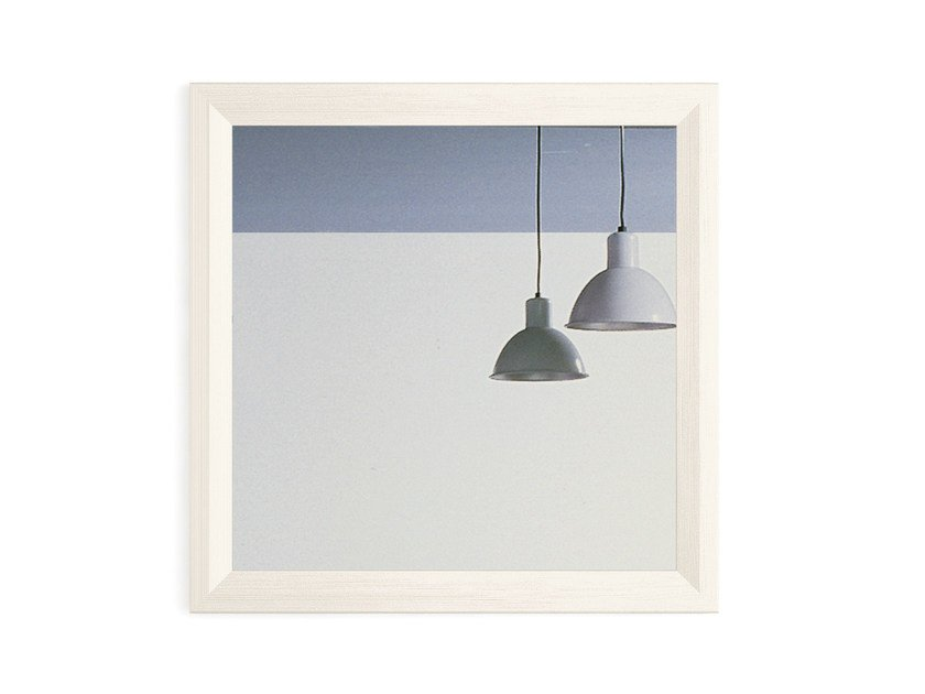 Wall-mounted framed mirror Wall-mounted mirror - Scandola Mobili