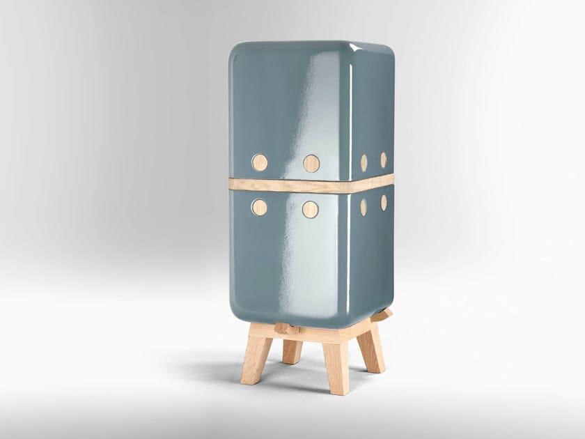 Ceramic storage unit KERAMOS   Storage unit - LA CASTELLAMONTE STUFE