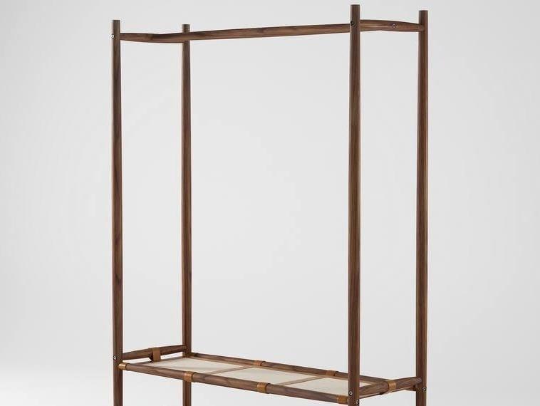 Wooden coat rack / shoe cabinet NOMAD | Coat rack - KARPENTER