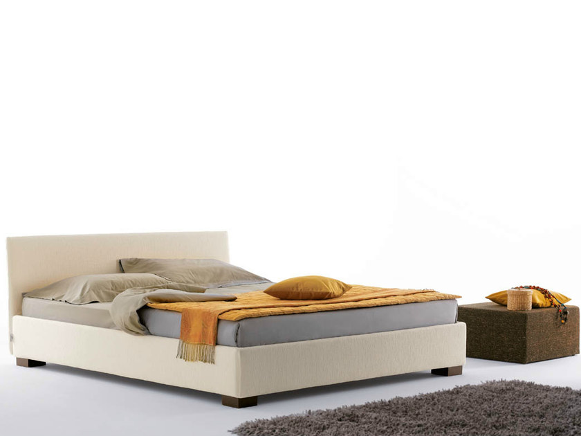 Double bed with removable cover FIGI | Double bed - Orizzonti Italia