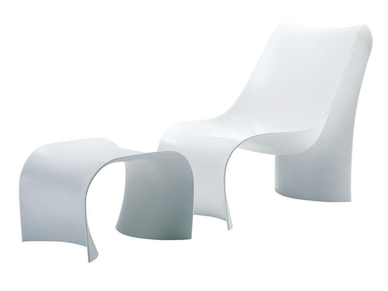 Polyurethane lounge chair BRASILIA - Zanotta