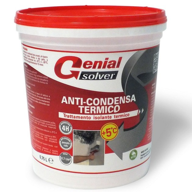 Pittura antimuffa pittura antimuffa e anti condensa for Antimuffa per pareti