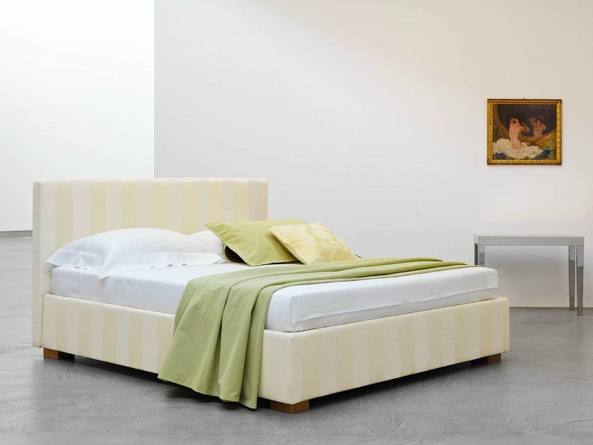Bed with removable cover LIPARI PLUS | Bed with removable cover by horm