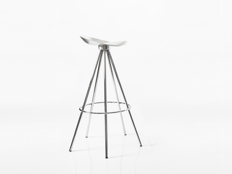 High trestle-based aluminium stool JAMAICA | Stool - BD Barcelona Design