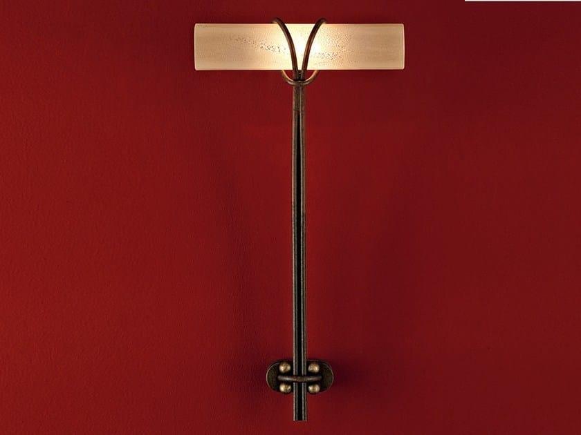 Glass wall light ALAYA | Wall lamp - TERZANI