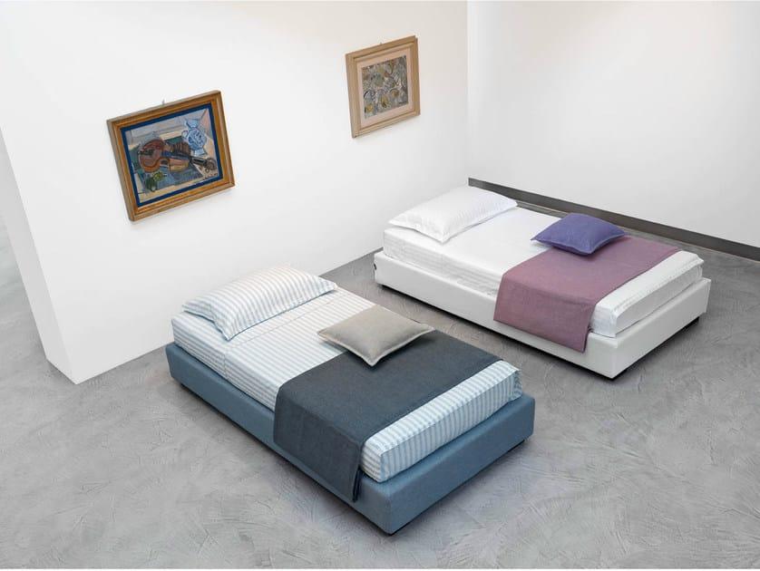 Letto estraibile singolo sommier standard letto singolo - Letto singolo con secondo letto estraibile ...