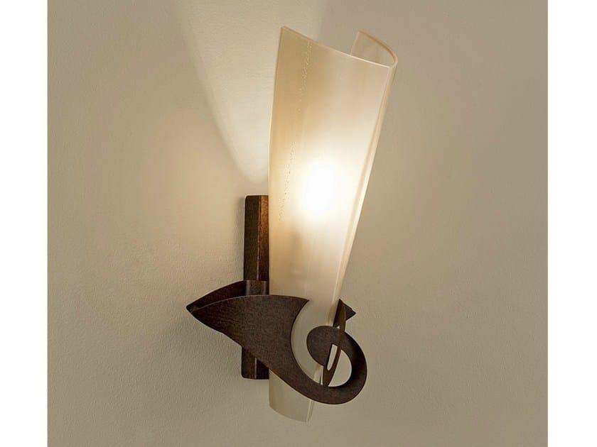 Blown glass wall light PHANTOM by TERZANI