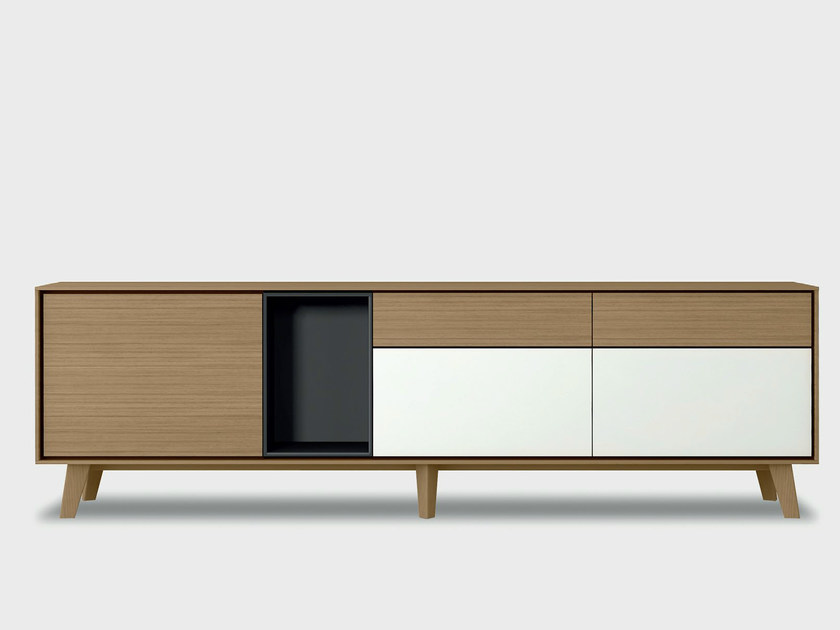 Solid wood sideboard AURA S1-2 - TREKU