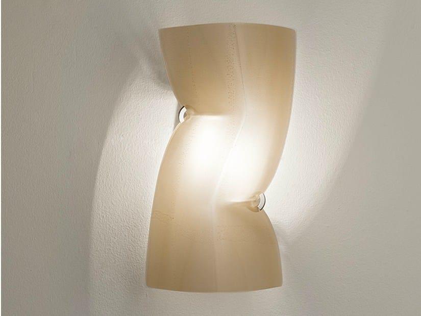Halogen glass wall light PETIT THEATRE - TERZANI