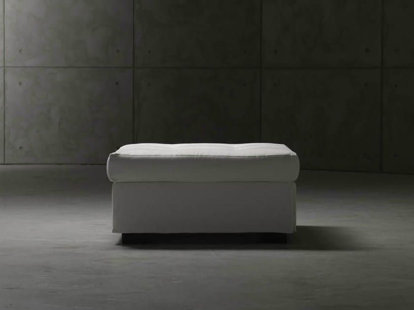 Fabric pouf bed MEZZA ISOLA - Orizzonti Italia