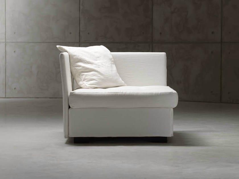 Corner armchair bed MEZZA ISOLINA - Orizzonti Italia