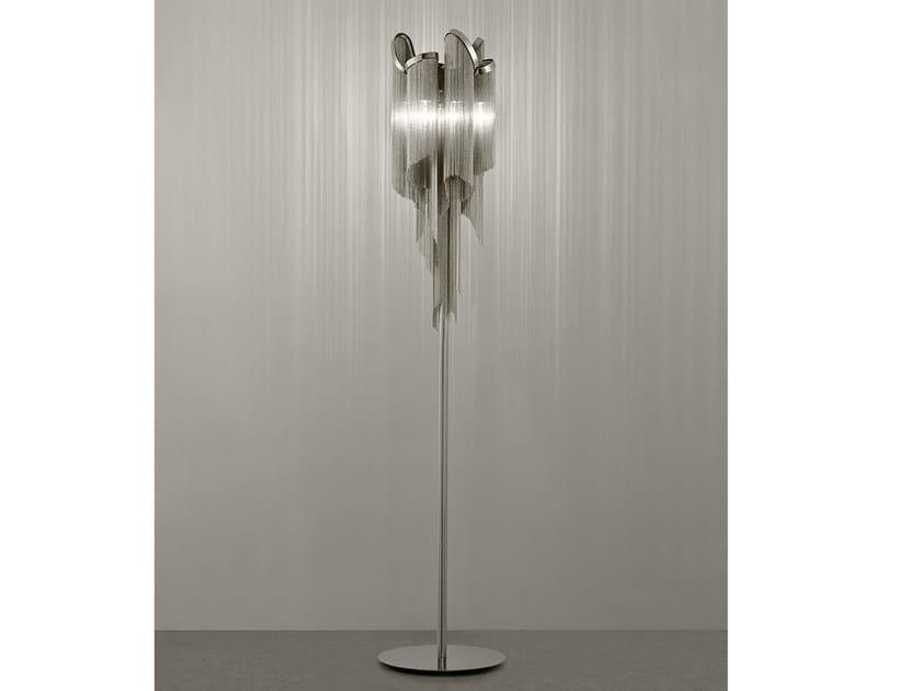 Halogen metal floor lamp STREAM | Floor lamp - TERZANI