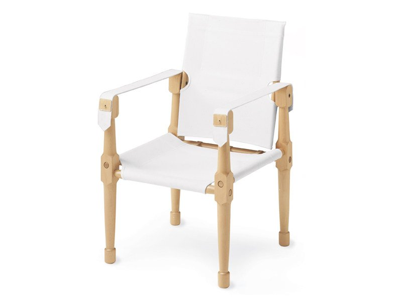 Armchair with armrests MORETTA - Zanotta