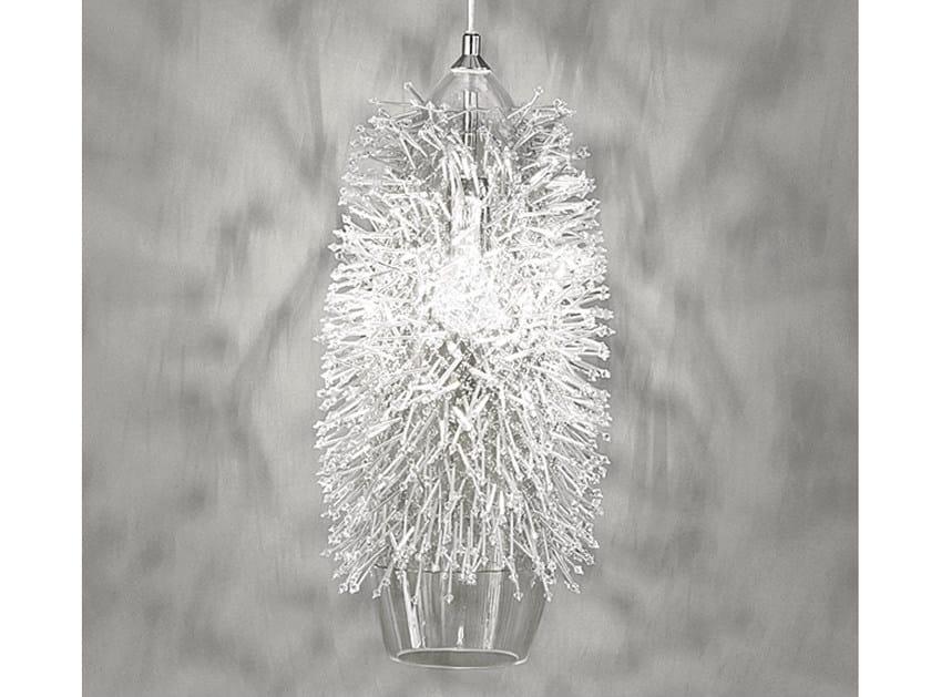 Halogen crystal pendant lamp SEA URCHIN | Crystal pendant lamp - TERZANI