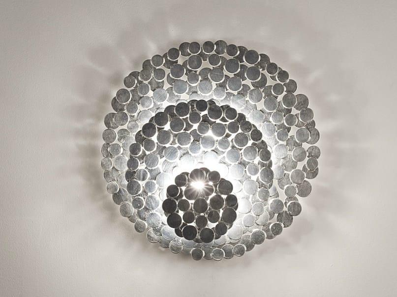 Halogen silver leaf wall light TRESOR | Wall light - TERZANI