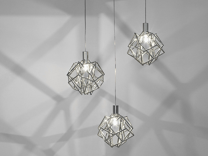 Halogen metal pendant lamp ETOILE   Pendant lamp - TERZANI