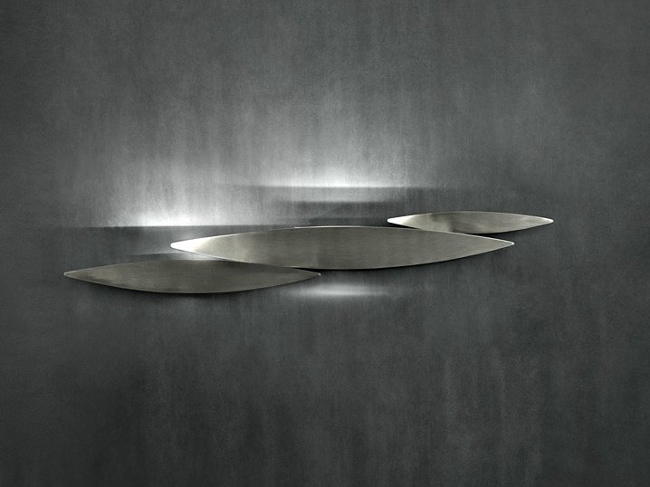 Halogen metal wall lamp I LUCCI ARGENTATI | Wall lamp - TERZANI