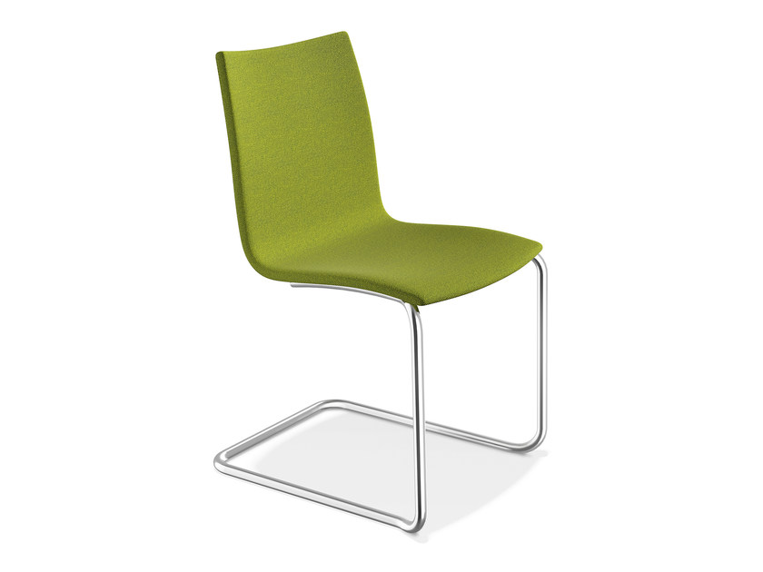 Cantilever fabric chair ONYX II | Fabric chair - Casala