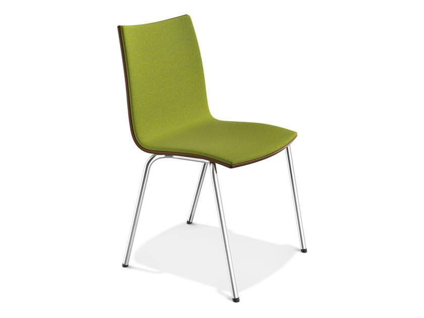 Stackable fabric chair ONYX III | Fabric chair - Casala