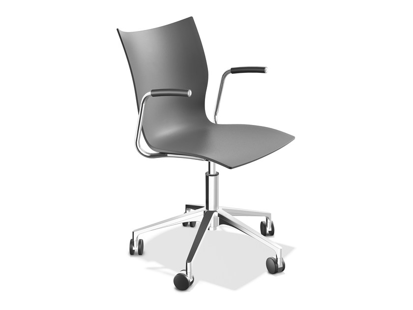 Plastic chair with armrests ONYX IV | Chair with armrests - Casala