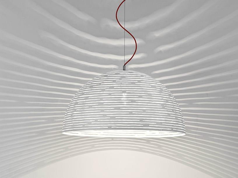 Halogen metal pendant lamp MAGDALENA | Pendant lamp - TERZANI