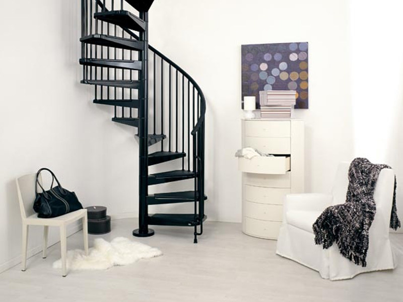 Spiral staircase CIVIK by Fontanot Spa