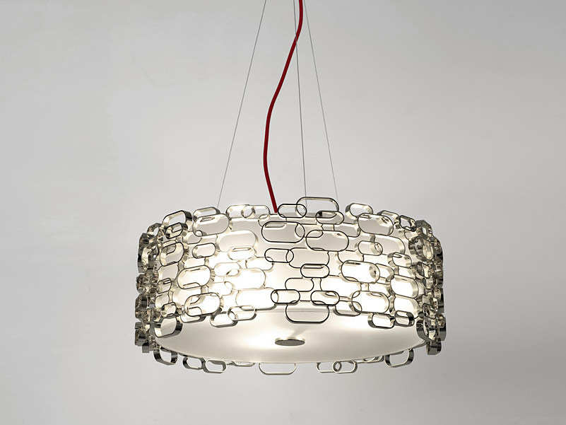 Halogen glass pendant lamp GLAMOUR | Pendant lamp by TERZANI
