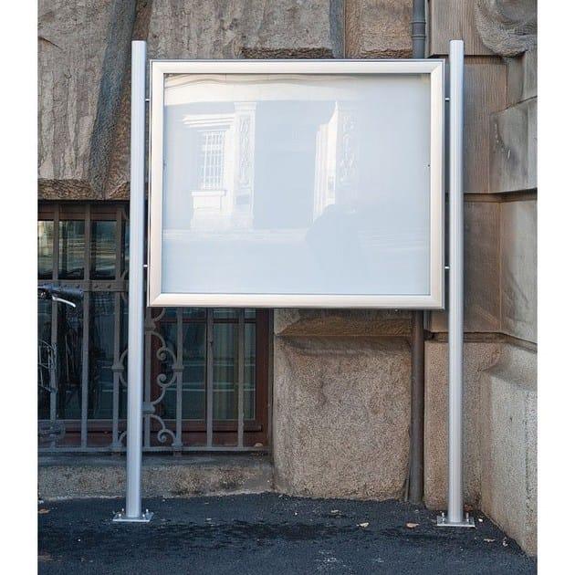 Freestanding notice board BACHECA PER ESTERNO | Freestanding notice board - STUDIO T