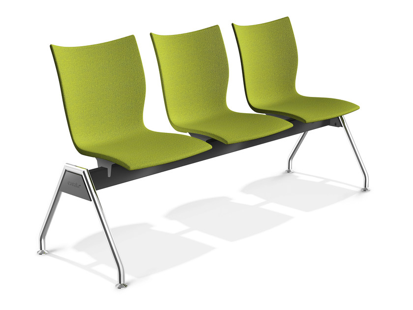 Fabric beam seating ONYX TRAVERSE | Beam seating - Casala