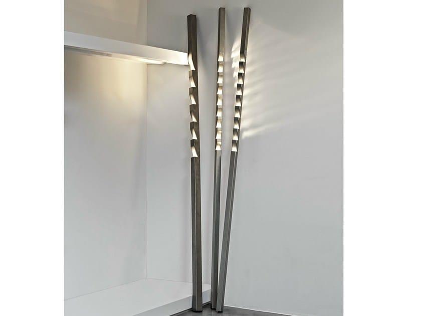 Halogen metal floor lamp ZIG ZAG - TERZANI