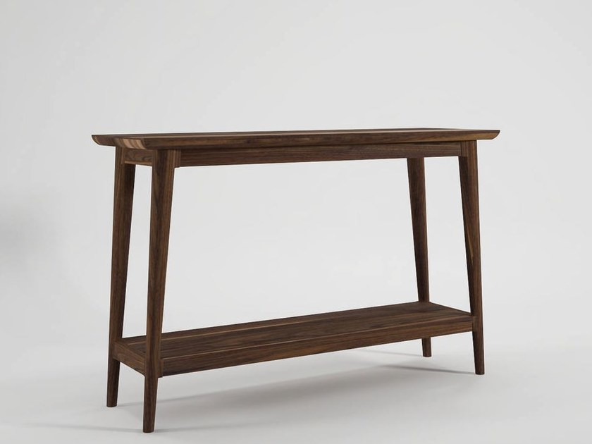 Rectangular wooden console table VINTAGE | Console table - KARPENTER