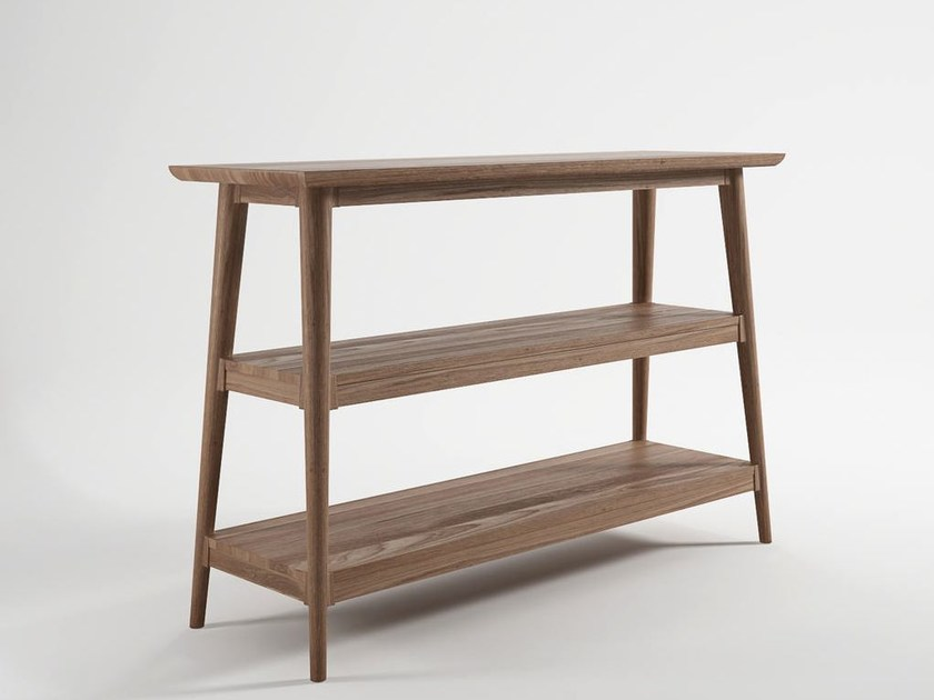 Rectangular wooden console table VINTAGE | Wooden console table - KARPENTER