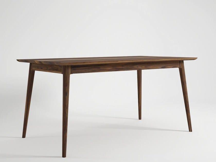 Rectangular wooden living room table VINTAGE | Dining table - KARPENTER