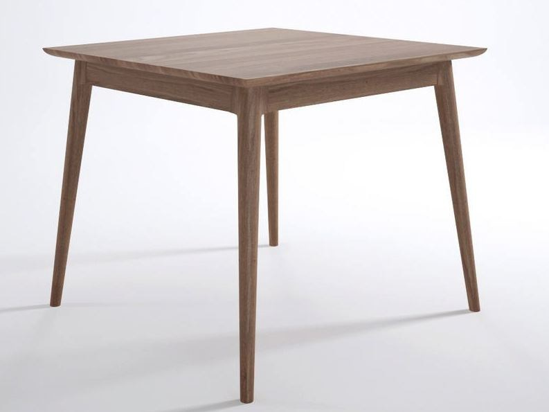 Square wooden living room table VINTAGE | Square table - KARPENTER