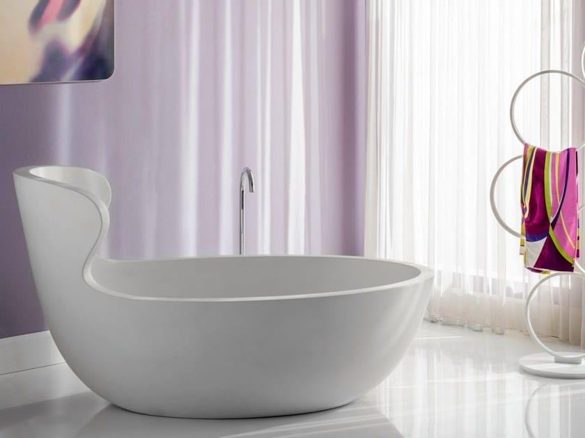 Asymmetric seated bathtub ARNE - Rapsel