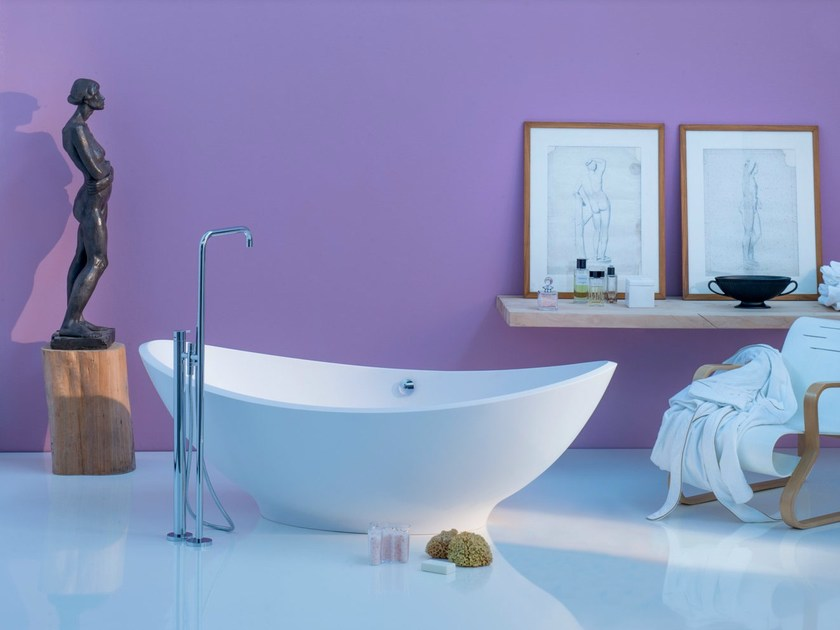 Freestanding oval bathtub LAVASCA - Rapsel