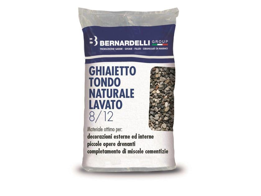 Gravel NATURAL WASHED ROUND GRAVELS 8/12 - Bernardelli Group
