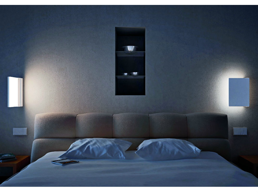 Adjustable painted metal wall light FOGLIA AP - Vetreria Vistosi