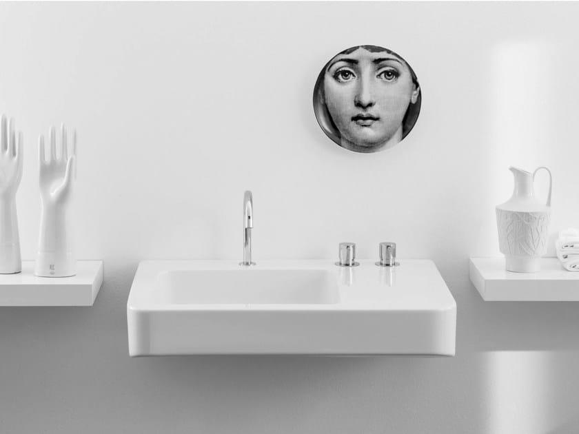 Rectangular single washbasin MONTECATINI - Rapsel
