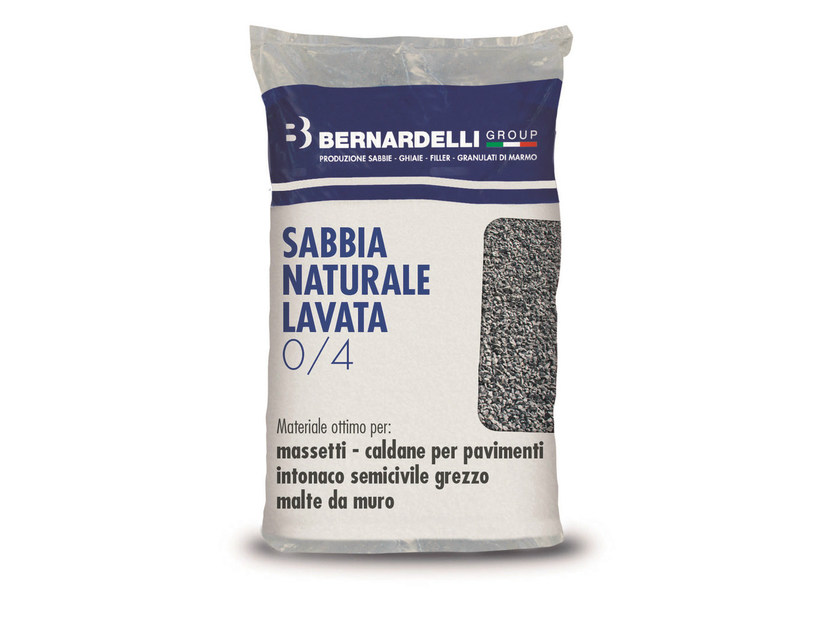 River sand NATURAL WASHED SAND 0/4 - Bernardelli Group