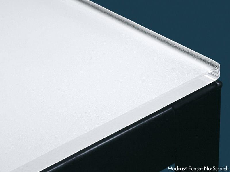 Anti-scratch and anti-stain glass ECOSAT NO-SCRATCH by Vitrealspecchi