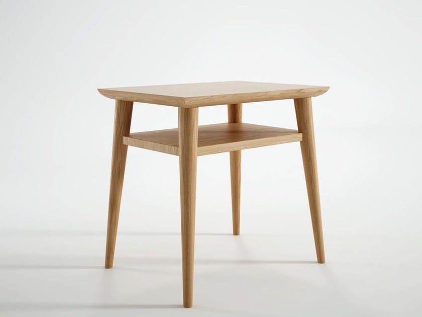 Rectangular wooden bedside table VINTAGE   Bedside table - KARPENTER