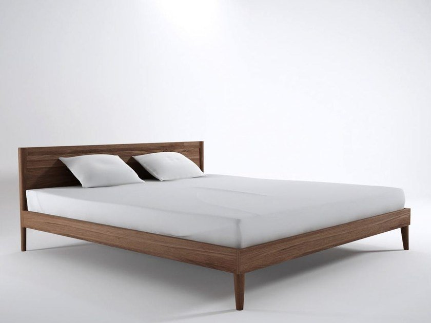 Vintage letto king size by karpenter design hugues revuelta for Colchon mas grande que king size