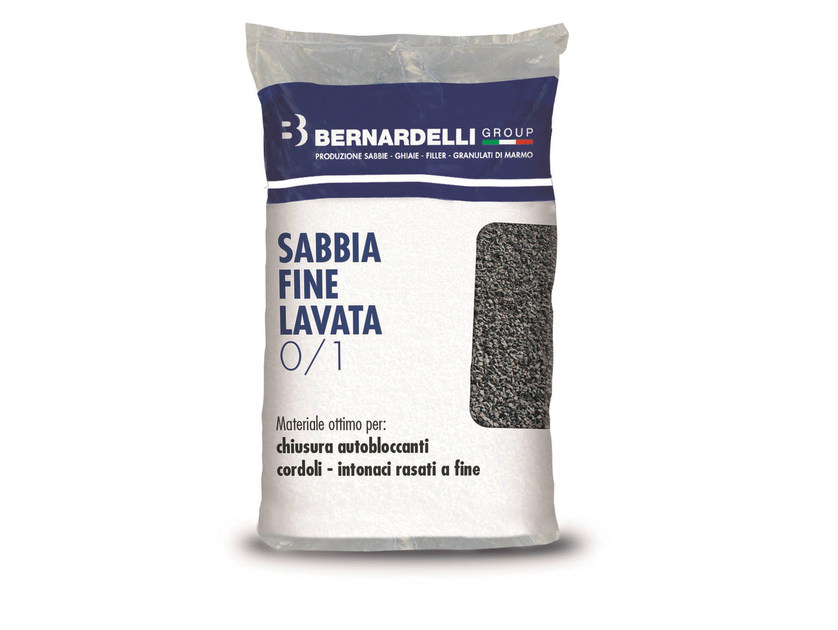 River sand WASHED THIN SAND 0/1 - Bernardelli Group